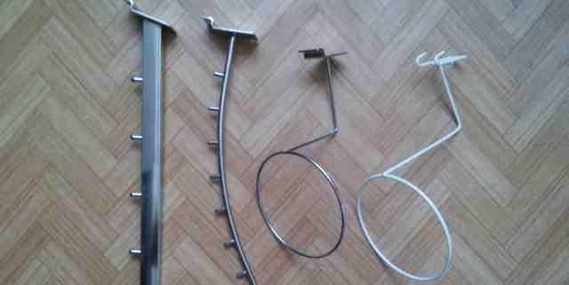 Крючки держатели для эконом панели