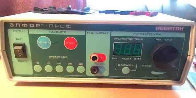 Гальванизация и электрофорез Эльфор Проф