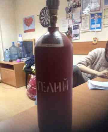 Баллон 5 литров для гелия