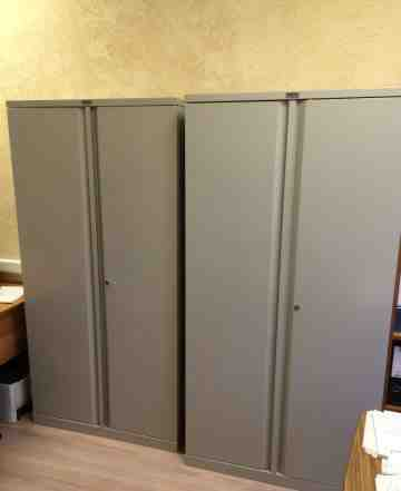 Металлический шкаф для документов Практик - 2 шт