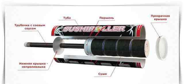 Упаковка для суши Sushiroller