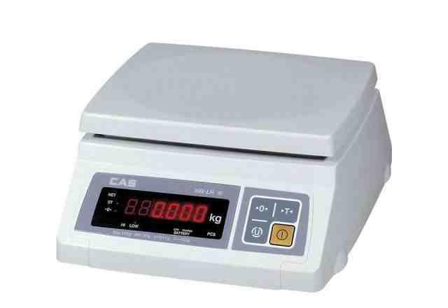 Весы настольные электронные фасовочные CAS SW-II