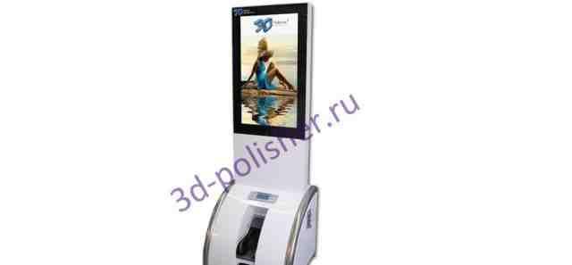 3D Polisher Media Station-Рекламный аппарат для чи