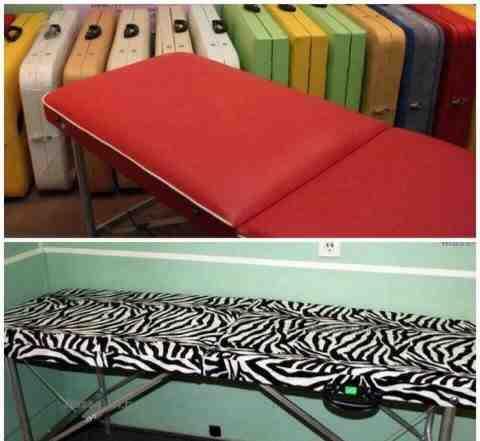 Складные массажные столы и косметологические кушет