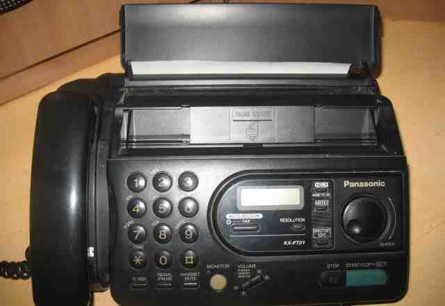 Факс Panasonic KX-FT31