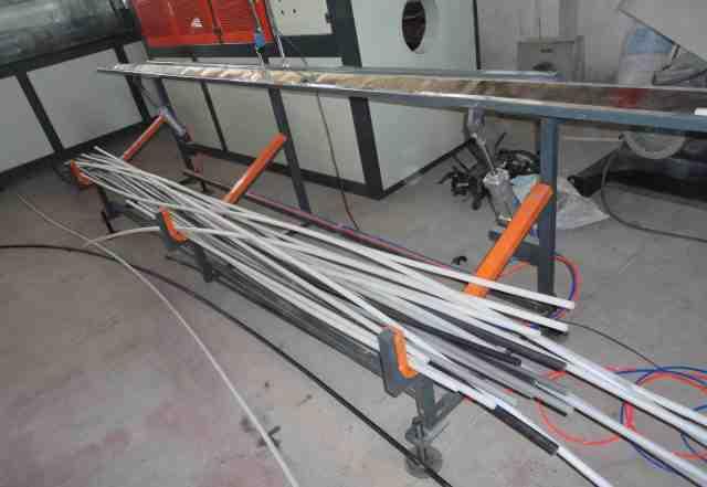 Линия по производству полипропиленовых труб