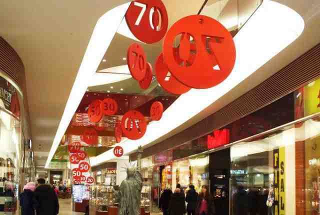 Предметы для оформления витрин и торговых залов