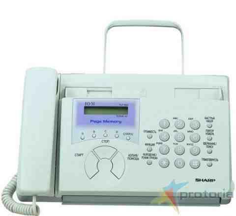 факсимильный аппарат в хорошем состоянии