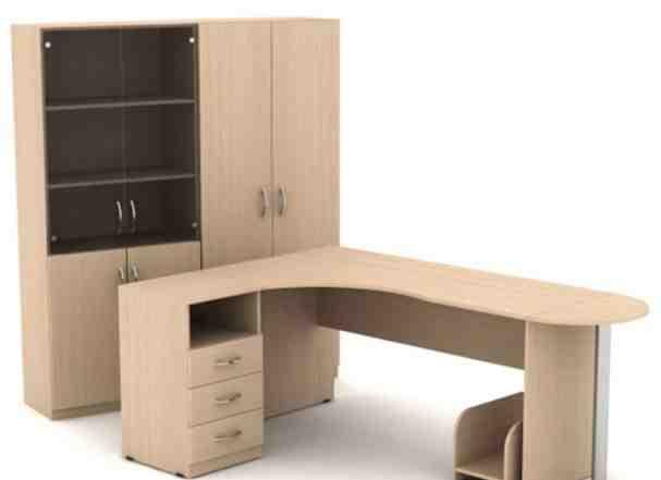 Офисная мебель, столы, тумбы, шкафы, стулья