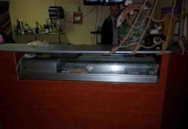 Настольная холодильная витрина VTR-6PI