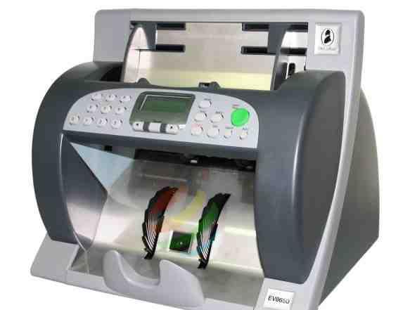 Счётчик банкнот Talaris (De La Rue) EV 8650 SD/UV