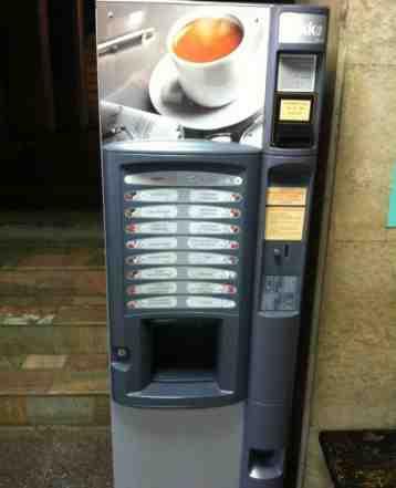 Установим кофейный автомат