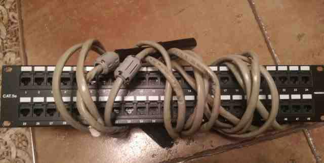 Патч-панель для мини-атс Panasonic