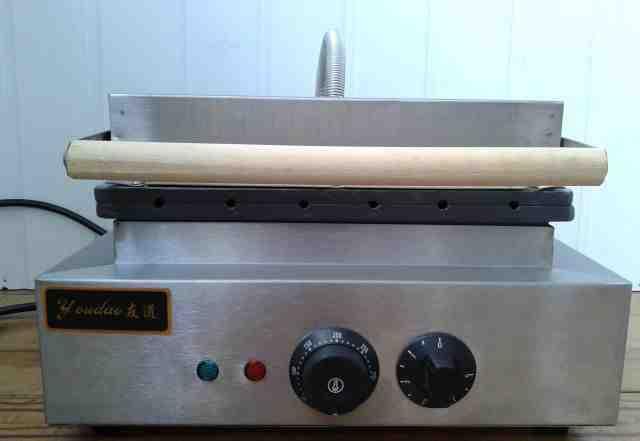 Оборудование для выпечки вафельных сосисок