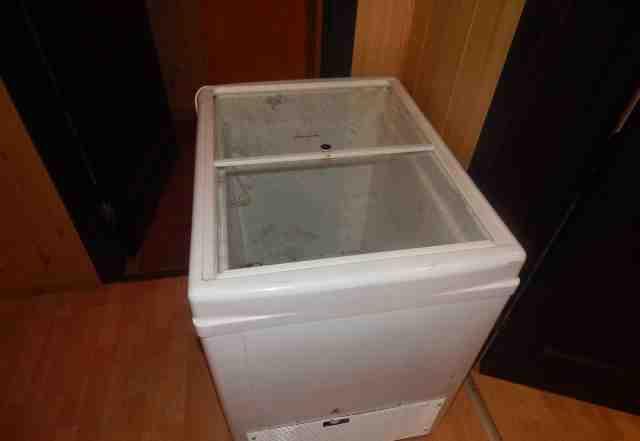 витринный горизонтальный холодильник