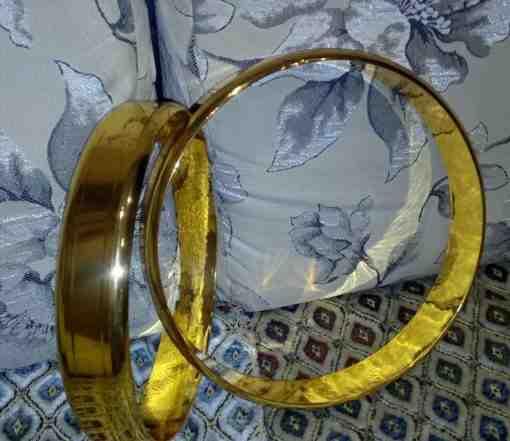 Свадебные кольца. Заготовка