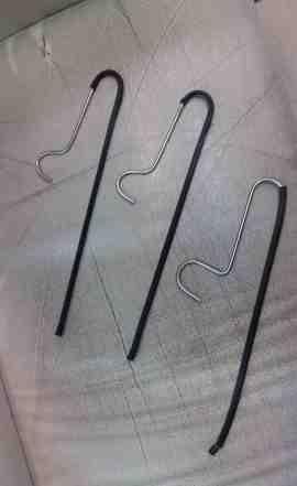 Вешалки для брюк металлические