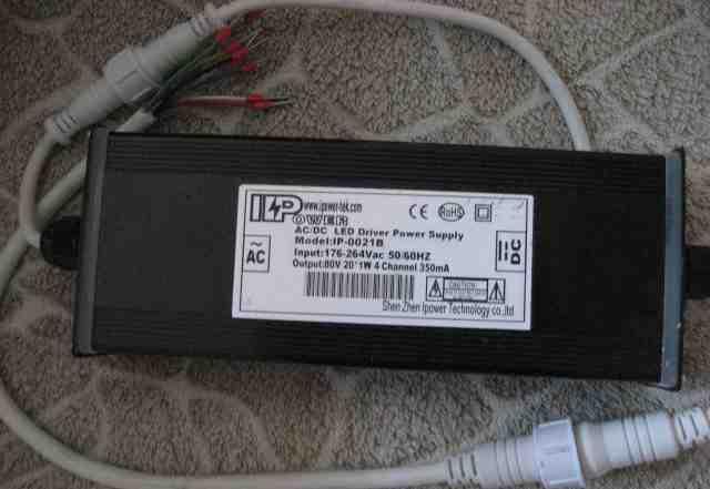 Драйвер для мощных светодиодов 80V 20x1W4