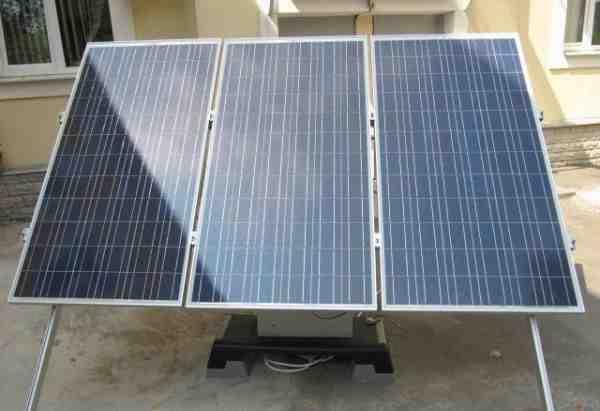 Мобильная электростанция на солнечных элементах