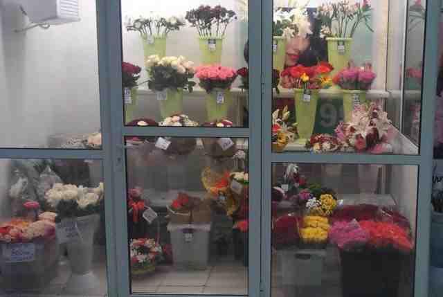 Комплекс оборудования для цветочного магазина