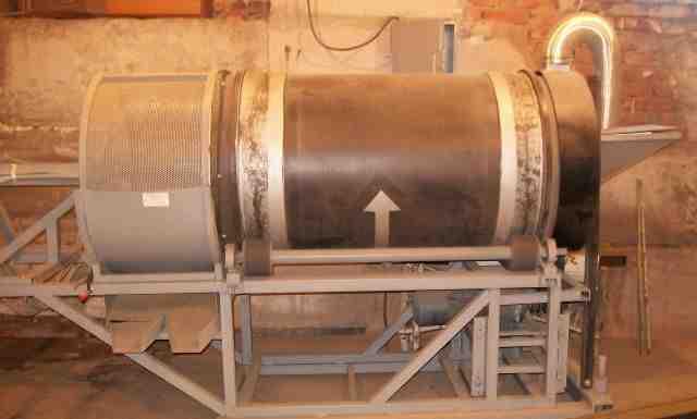Агрегат для сушки И просеивания песка