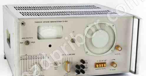 Генератор сигналов низкочастотный Г3-56/1