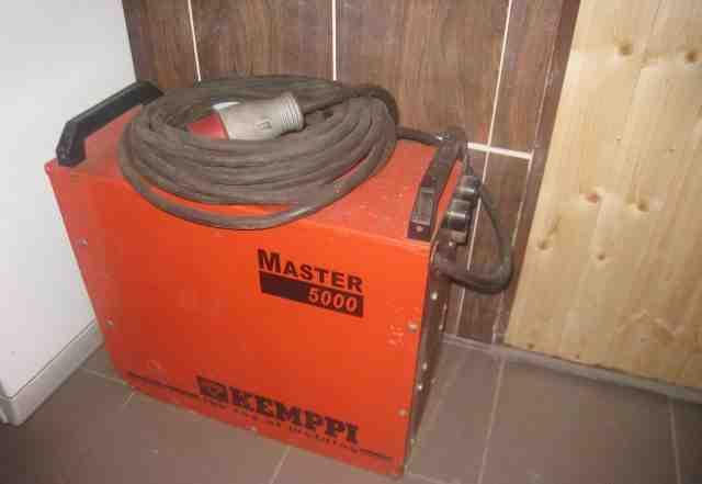 Сварочный инвертор kemppi mster 5000