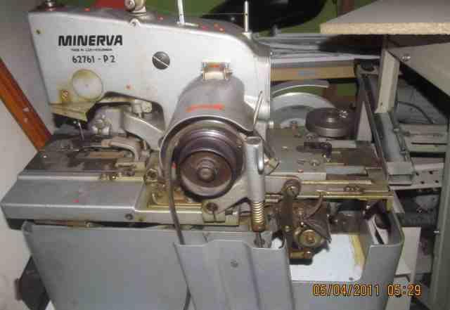 Петельная глазковая(пальтовая) швейная машина