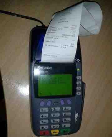 Платежный терминал VeriFone Vx510