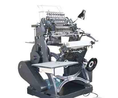 Новая ниткошвейная машина SX-01 (Полиграфия)