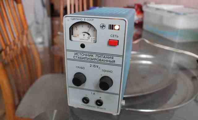 Источник питания постоянного тока стабилиз. ипс-1