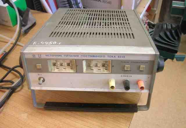 Источник питания постоянного тока В5-43