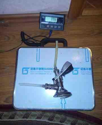 Весы для пивных кег
