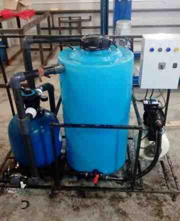 Оборудование для очистки воды автомойки арос2