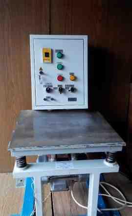 Виброплощадка лабораторная вл-1 эт