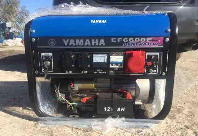 Генератор Yamaha EF6600E
