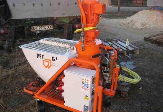 Штукатурная станция Калета А 5, PFT G5