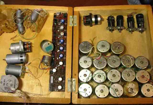 Электродвигатели и Моторчики про-во СССР