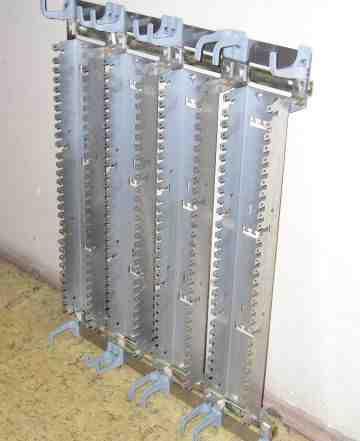 Настенный кросс-блок кнкб-4/3 на 1200 пар