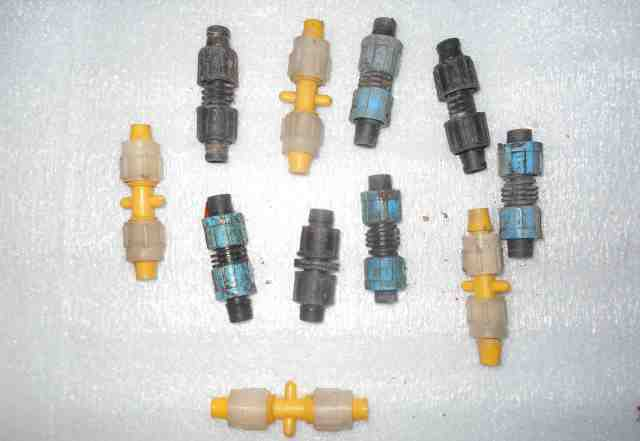 фитинги ремонтные для капельного полива