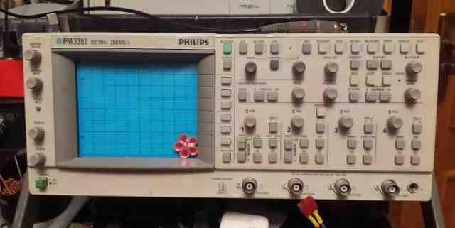 Осциллограф Fluke (Philips) PM3382, Г4-102а Г4-107