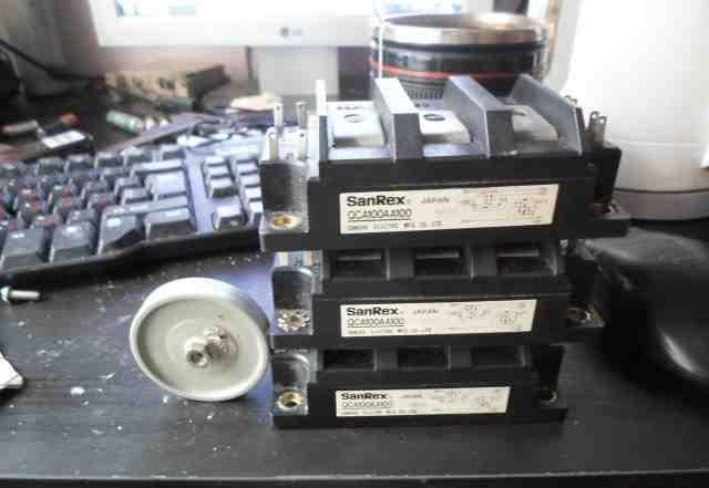 Силовые полумостовые транзисторные сборки SanRex