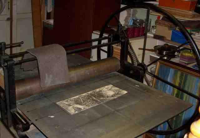 Печатный станок своими руками 836