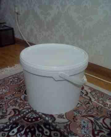 Ведра пластиковые 10-14 литров