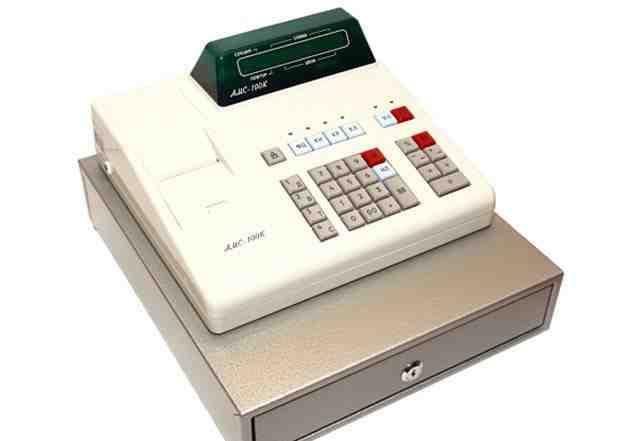 Амс-100К с денежным ящиком