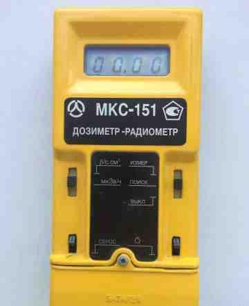 Дозиметр-радиометр мкс-151
