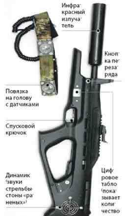 Оборудование для игры в лазертаг мр-514 -10шт. б/у