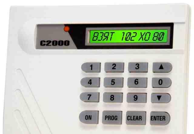 С2000 Пульт контроля и управления (пку)