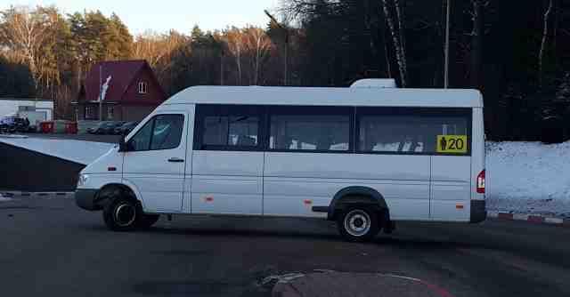 Микроавтобус Mercedes 20 мест