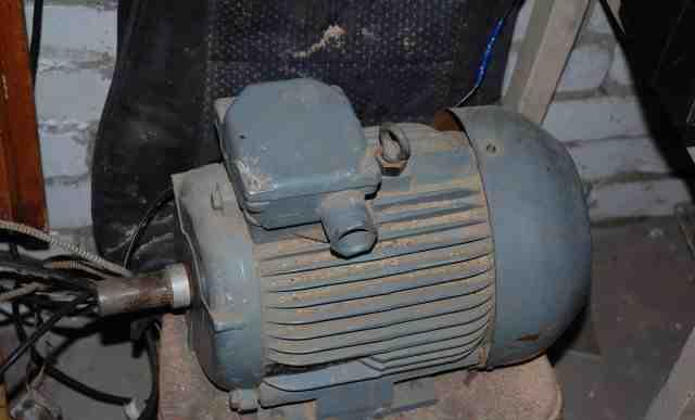 Мотор треххфазный 5.5 kw